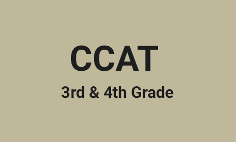 <strong>CCAT - Canadian Cognitive Abilities Test </strong>