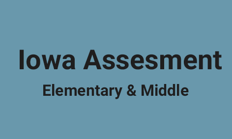 <strong>Iowa Assessment for Elementary & Middle</strong>