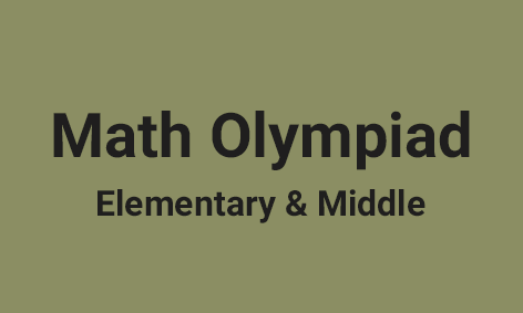 <strong>Math Olympiad Program for Elementary & Middle</strong>
